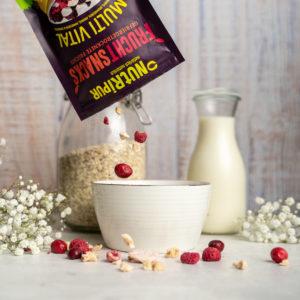Gefriergetrocknet Früchte ohne Zusätze Frühstück Smoothie Bowl