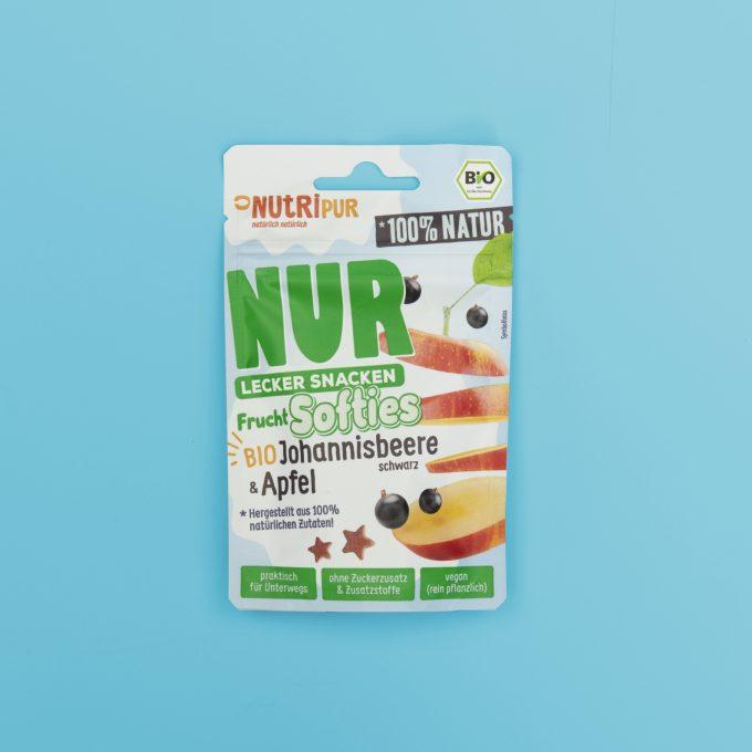 Frucht Softies Vegan BIO Gummibärchen Johannisbeere Apfel natürlich