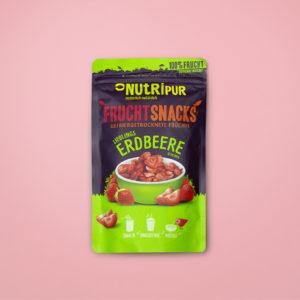 Gefriergetrocknete Früchte ohne Zusätze Erdbeeren natürlich Smoothie Bowl vegan glutenfrei