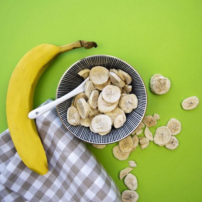 Gefriergetrocknete Früchte Bananen ohne Zusätze BIO natürlich vegan