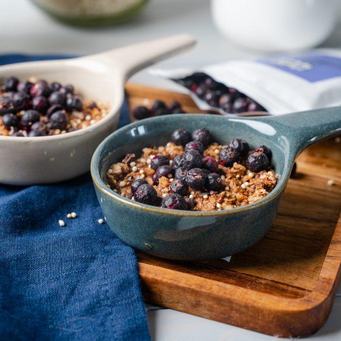 Gefriergetrocknete Früchte Heidelbeeren natürlich vegan