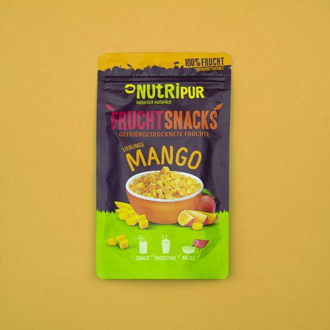 Gefriergetrocknete Früchte ohne Zusätze Mango Smoothie Bowl