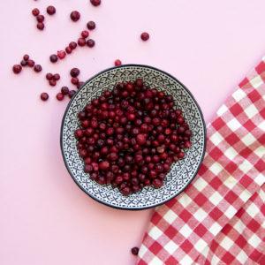 Gefriergetrocknete Früchte natürlich ohne Zusätze Preiselbeeren