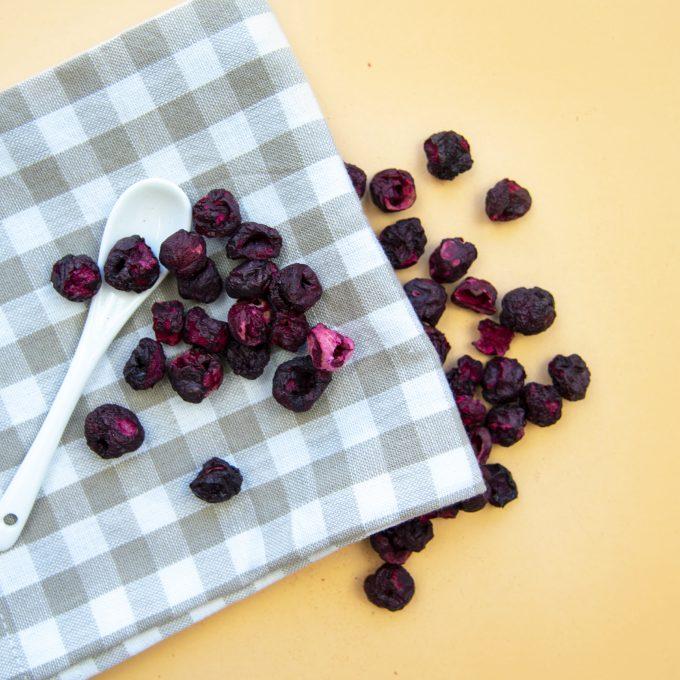 Gefriergetrocknet Früchte natürlich vegan glutenfrei Kirschen
