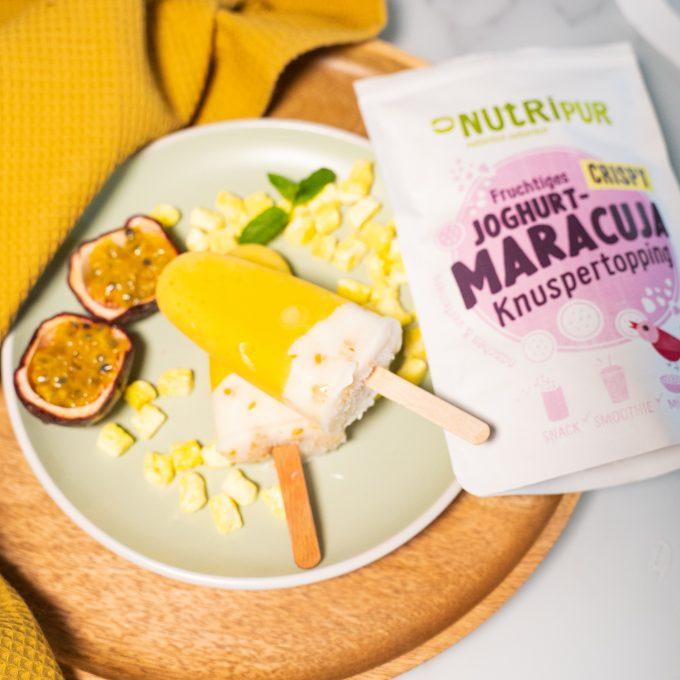 Gefriergetrocknete Früchte ohne Zusätze Joghurt Maracuja Topping Maracuja