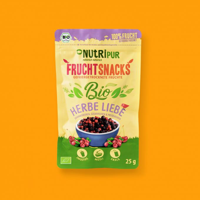 Gefriergetrocknete Früchte ohne Zusätze BIO natürlich Beerenmischung Smoothie Bowl