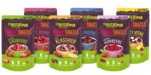 Auswahl gefriergetrockneter Früchte von NutriPur