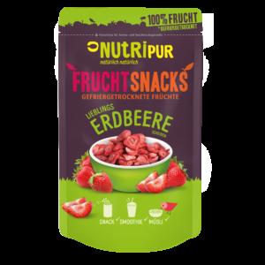Gefriergetrocknete Früchte ohne Zusätze Erdbeere natürlich