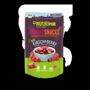 Gefriergetrocknete Früchte ohne Zusätze Erdbeeren Kirschen Himbeere natürlich BIO