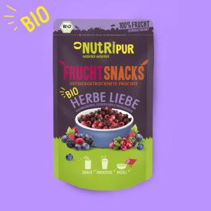 Gefriergetrocknete Früchte ohne Zusätze natürlich BIO Beerenmischung