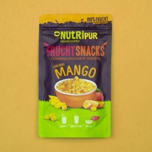 Gefriergetrocknete Früchte Mango ohne Zusätze natürlich vegan glutenfrei Müsli Smoothie
