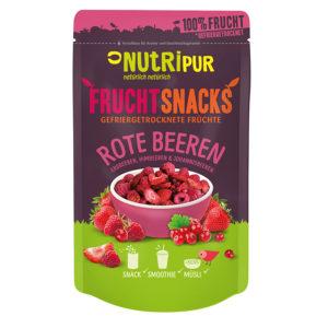 Gefriergetrocknete Früchte ohne Zusätze Erdbeeren Johannisbeeren Himbeere natürlich