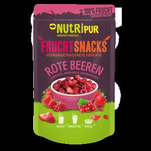 Gefriergetrocknete Früchte ohne Zusätze Erdbeeren Himbeeren Johannisbeeren natürlich
