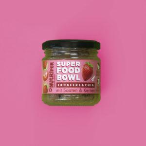 Chia Samen Erdbeere Kerne natürlich vegan