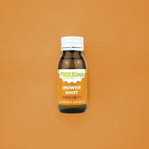 Functional Shot Ingwer Limette Apfel Superfood natürlich vegan ohne Zusätze