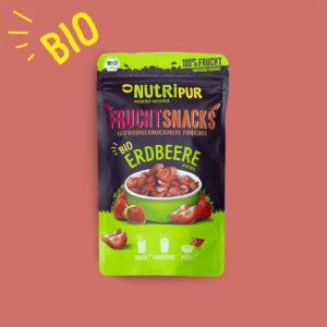 Gefriergetrocknete Früchte ohne Zusätze BIO Erdbeere natürlich Smoothie Bowl Superfood