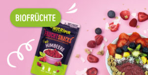 Gefriergetrocknete Früchte ohne Zusätze natürlich Bio vegan glutenfrei