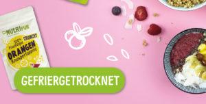 Gefriergetrocknete Früchte ohne Zusätze natürlich ohne Zusätze vegan glutenfrei