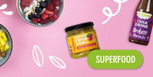 gefriergetrocknete Früchte Superfood Mango Chia