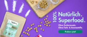 Kichererbsen doppelt geröstet ohne Zusätze Superfood
