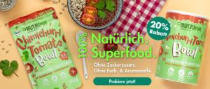 Superfood Bowl Ohne Zuckerzusatz 20 Prozent Rabatt Tomaten Bowl