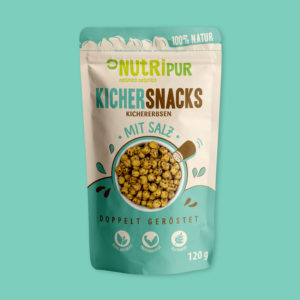 NutriPur Kichererbsen geröstet Snacks