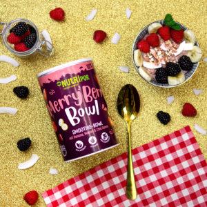 Smoothie Bowl gefriergetrocknet Beeren Super Food