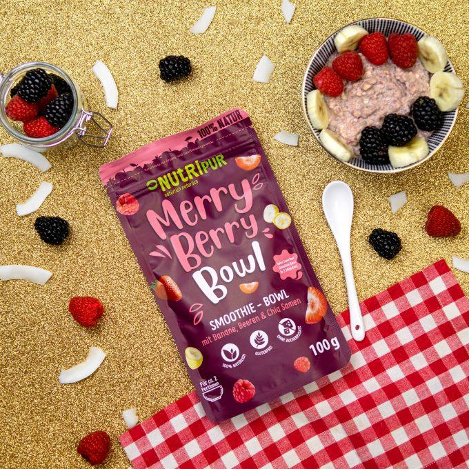 Smoothie Bowl gefriergetrocknet Beeren Super Food Früchte