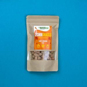 Kichererbsen doppelt geröstet Proteinquelle mit Mohn natürlich