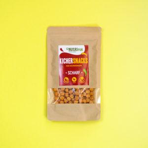 Kichererbsen doppelt geröstet Proteinquelle spicy