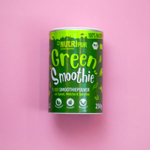 Green Smoothie Smoothiepulver Spinat Matcha Spirulina Super Food natürlich
