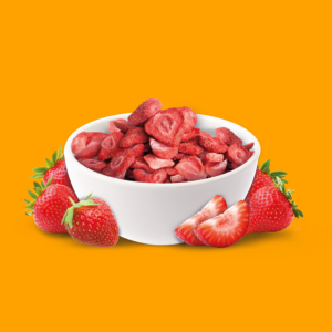 NutriPur gefriergetrocknet Erdbeeren natürlich